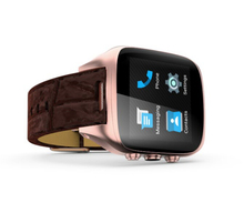 Latest wrist watch mobile phone bluetooth smart watch for Android