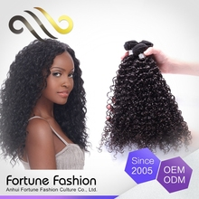Virgin brazilian kinky curly hair,cheap curly hair weft, micro braid weft hair