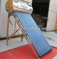 Integrated solar water heater with heat pipe, heat pipe vacuum tube, solar geyser---ISO,SGS,CE,SRCC,CCC