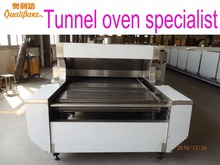Professional manufacturer of food production line offers automatic gas industrial baking tunnel oven ideal for arabic bread