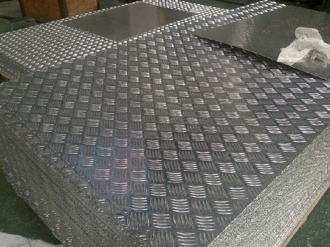 Bright Finish 5 Bar Diamond Aluminum Trailer Flooring