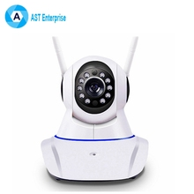 2017 hot promotion products personalized 1080p 960p 720p p2p wifi ip camera 2 antenna wireless p2p digital cctv camera