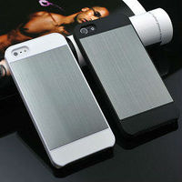 Aluminum customized wholesale price mobile phone hard case for iphone 5