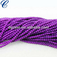 plastic pearl bead string and loose bead