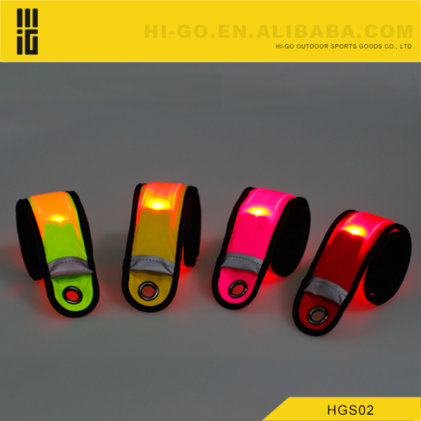 new products customized led slap armband as seen on tv product