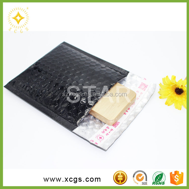 wholesale coloured metallic bubble mailer padded envelope for postage packing bags
