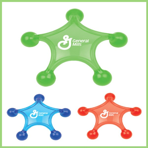 Wholesale Cheap Star Shape Plastic Personal Massager