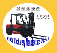 (NIULI)4T Diesel Forklift with Chinese Engine/Japanese Engine