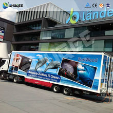 2016 Newest Mobile 5D 6D 7D Truck Cinema with professional screen