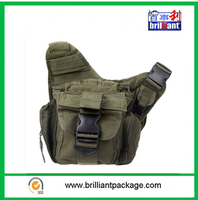Tactical Shoulder Strap Bag Pouch Travel Backpack Camera Military Bag