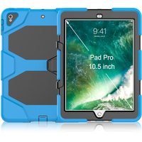 Silicone PC Rugged Case Cover for iPad Pro 10.5 Cover 2017