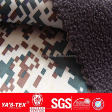 roller printing camo waterproof soft shell fabric military coat pants fabrics