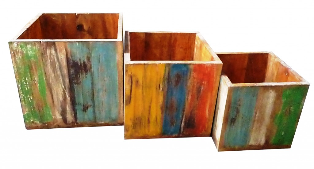 BOAT WOOD FURNITURE BOXES
