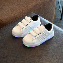 2017 children led casual shoes kids casual sports shoes for boys and girls