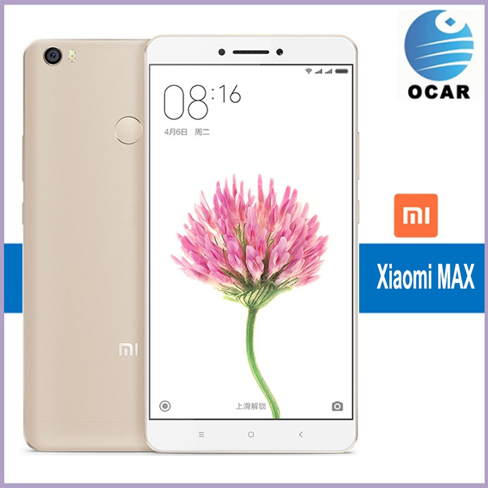 Xiaomi Mi Max 128GB ROM 4GB RAM 6.44 inch 2.5D Arc Glass Screen Android 6.0 Qualcomm Snapdragon 652 Octa Core Mobile Phone