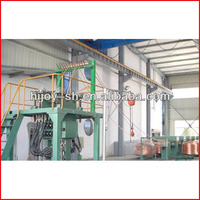 Upward continuous casting machine / oxygen-free copper rod production line