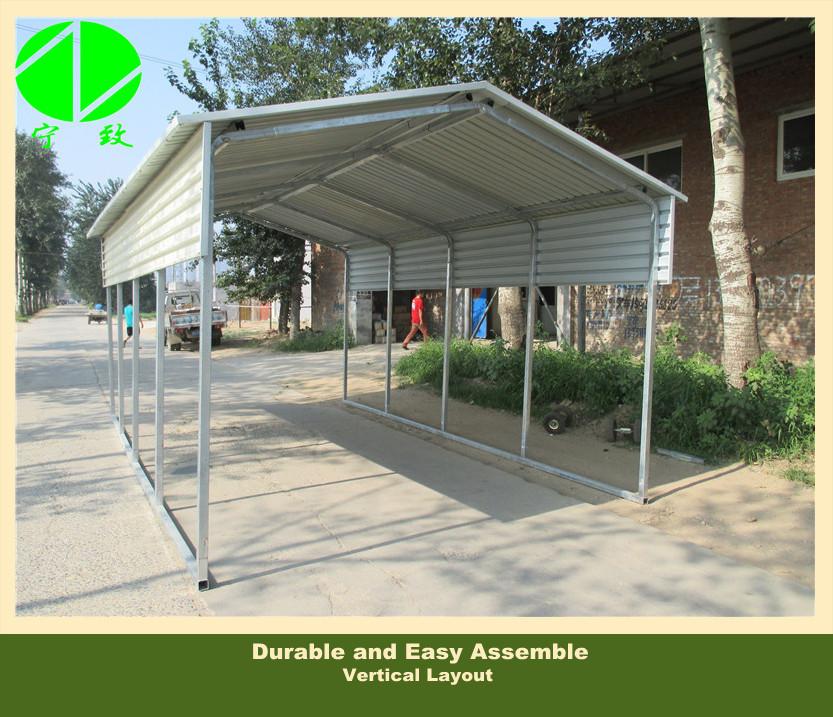Canvas car shelter metal car tent cheap carports buy for Garage en toile pas cher