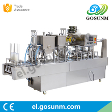 Best Quality and price Manufacturer automatic ice cream yogurt cup filling sealing machine