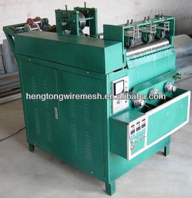 Best price hot sale steel wire sponge making machine scourer machine