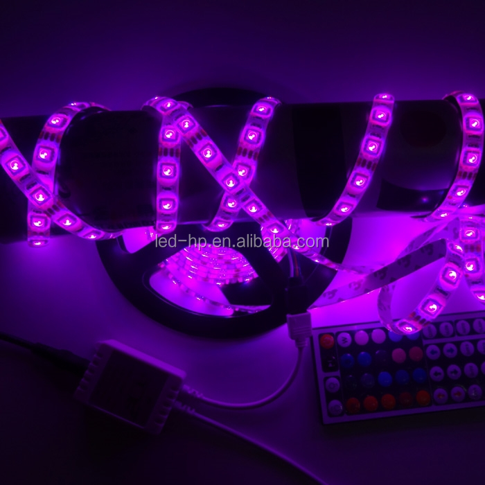 Chinese factory low price 5050 rgb 60leds addressable 5mm width led strip