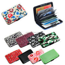 USA Seller Business Aluminum ID Credit Card Case Wallet Holder Metal Money Clip Card Holder