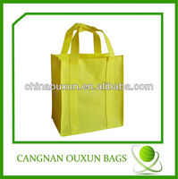 customized print logo non woven tote bag