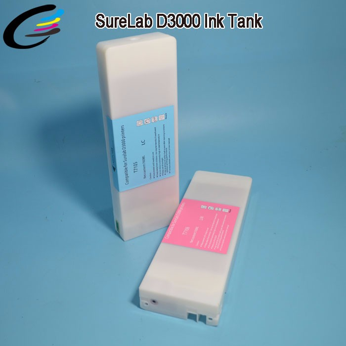 Compatible for Epson SureLab D3000 Ink Cartridge 700ML with Chip