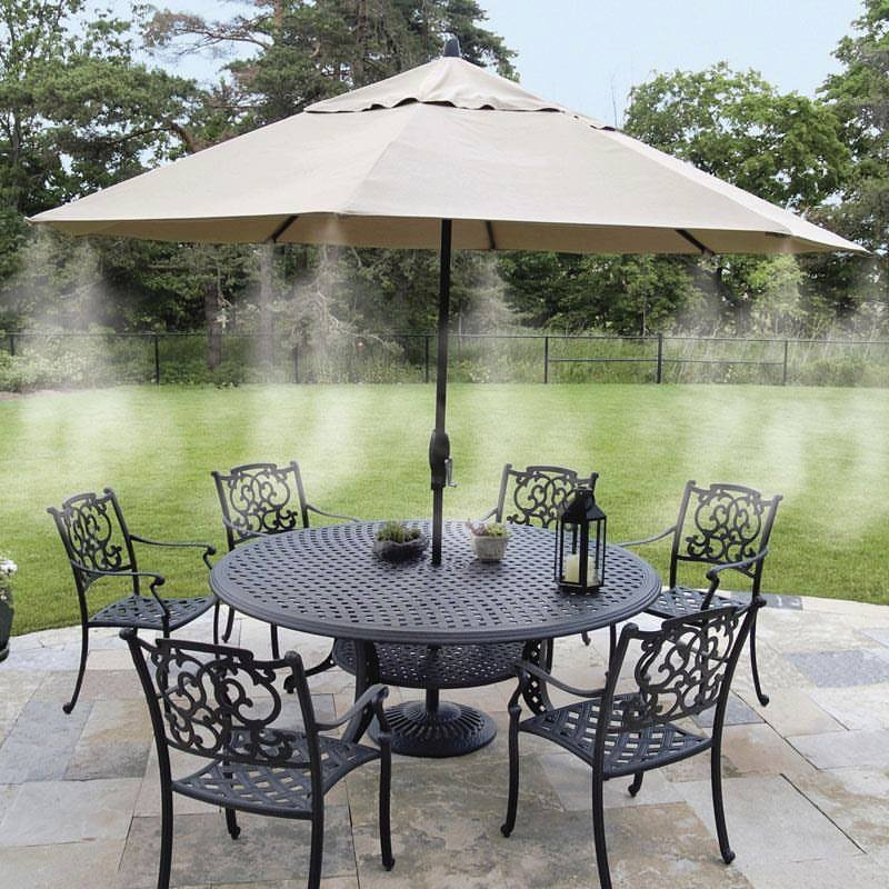 Outdoor Water Misting Air Cooler System For your Patio Garden Cooling