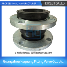 China factory supply flanged carbon steel rubber joint