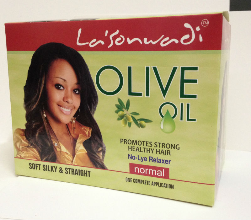 Organic Olive Oil No Lye Hair Relaxer