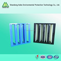 V-bank frame high capacity air filter high efficiency air filter