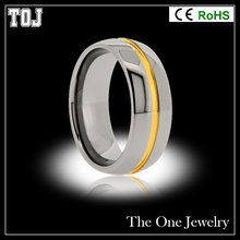Fashion latest gold ring designs,used boxing ring for sale,tungsten ring TP075