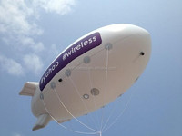 2015 new design high quality inflatable camera blimp, inflatable airship with camera
