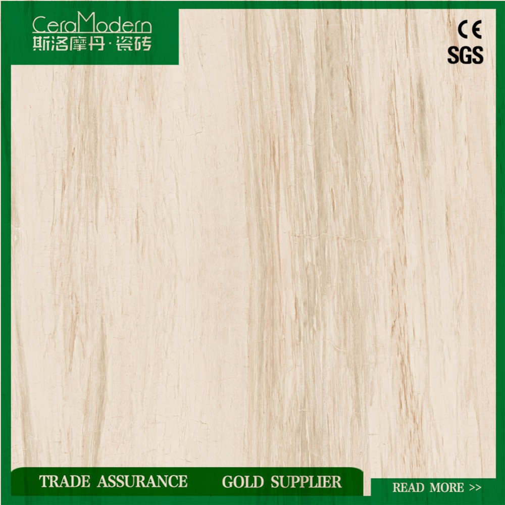 In many styles crema marfil beige color marble glazed polished porcelain tile