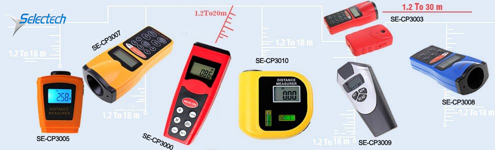 SE-MCP-100C 100m multi-function distance measure the long distance laser range finder OEM