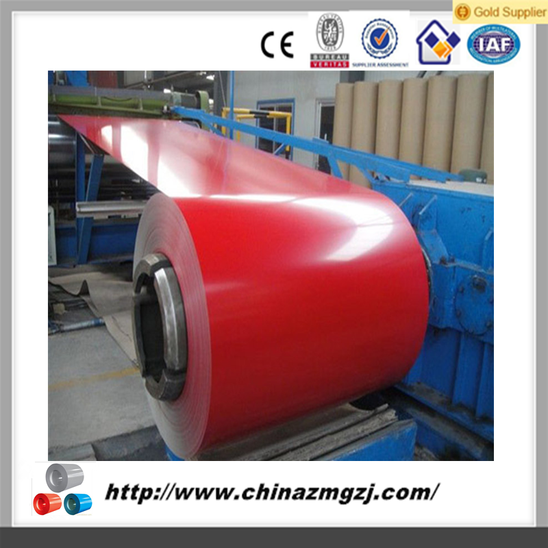 China Supplier RAL 5015 Sky Blue Color Coated PPGI Steel Coil