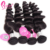 Eurasian Loose Wave Raw Cambodian Natural Black 7A 3 Bundles Rose Hair Extensions From Cambodia