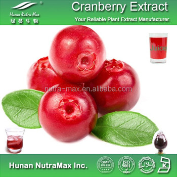 No additive Cranberry Extract Powder 4:1