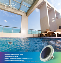 Solar Swimming Pool Ionizer reduces 85% chlorine