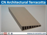 CN Shaped Exterior Decorative Terracotta Panels for Shenzhen Bay No.1-193m