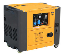 220V50hz electric start 100% copper 186FA 5kva silent diesel generator price