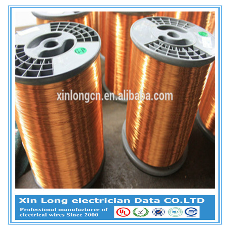 UL Approved High Conductivity Enameled Wire AWG Size Motor Coil Winding Copper Wire