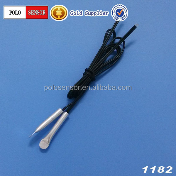 (ISO9001-2008) ISO/SGS/ROHS High accuracy ntc thermistor copper pipe temperature sensor