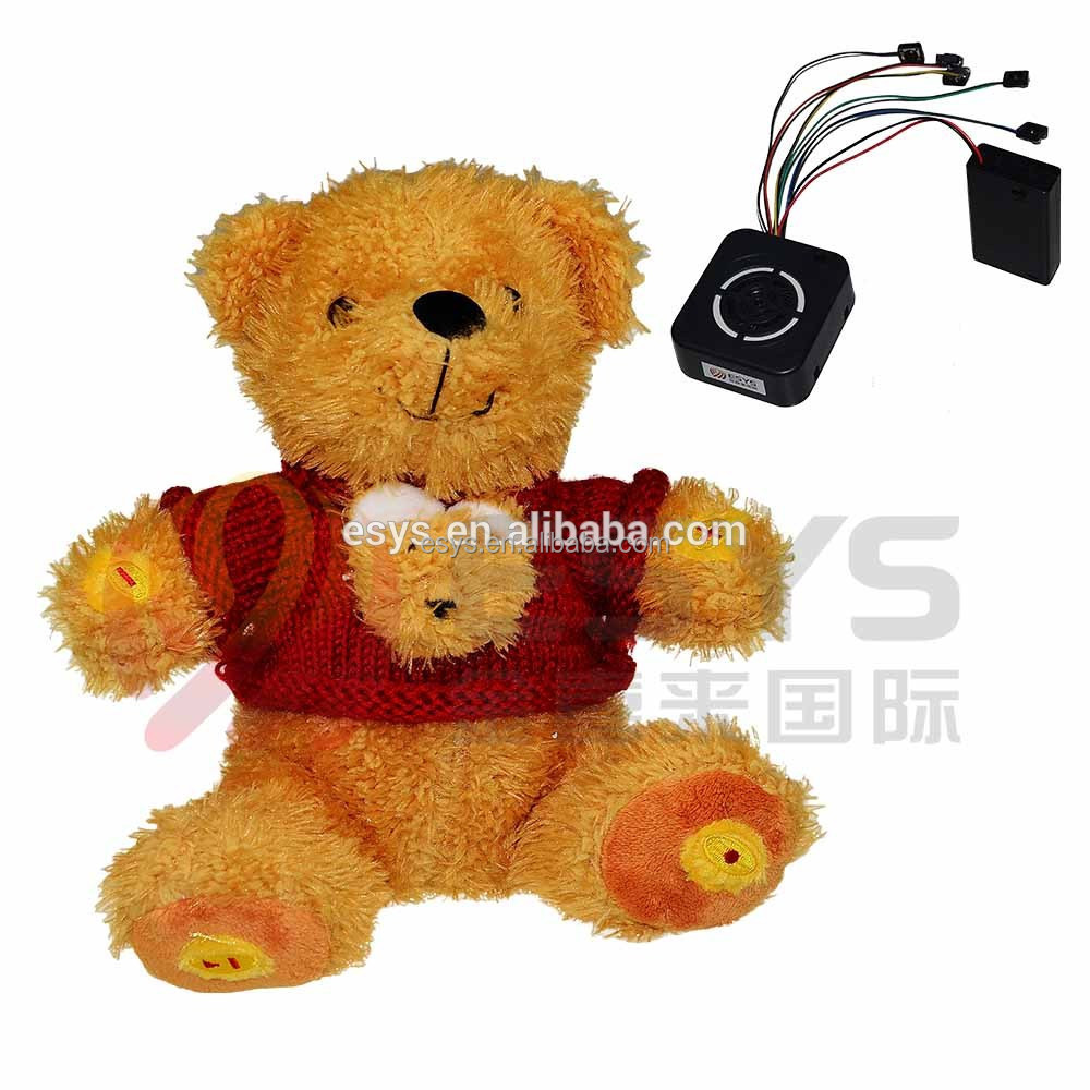 the electric animal toy,sound box for plush toy