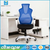 Q21 Price Competitive Cyber Cafe Furniture High Back Swivel Ergonomic Mesh Internet Cafe Gaming Chair with Wheel Base