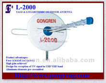 Best Outdoor Ch.1-69 dual band tv antenna L-2000