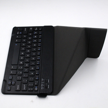 Mini Universal stand Case Wireless Bluetooth Keyboard for iOS Android Windows System for 7-10 inch tablet