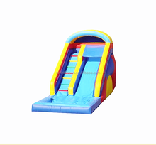 commercial grade PVC inflatable slide/water slide with pool F4014