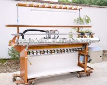 Semi-AutoFlat Bed Knitting Machine
