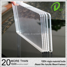 organic glass acrylic basketball board 15mm transparent pmma sheet